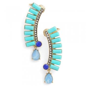 Blue shade Ear cuffs