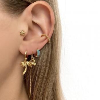 Long chain Ear cuffs
