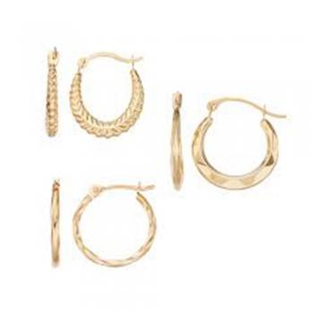 Hoop earring sets