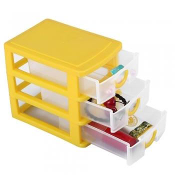 Yellow plastic Jewelry boxes