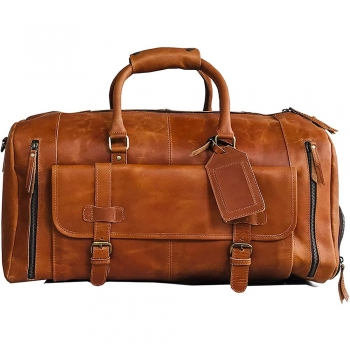 Leather Luggage Bags   Holdalls
