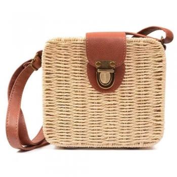 Straw Bag Messenger Bags