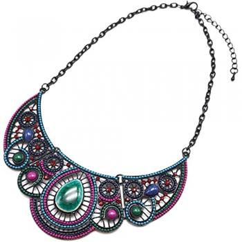 Plastron necklace