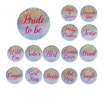 Bride Tribe Pins