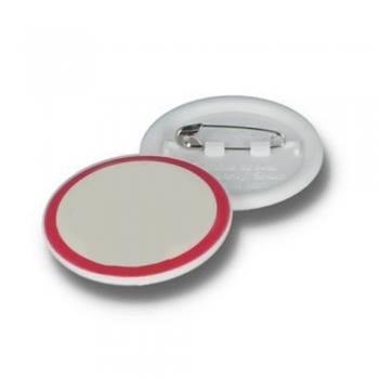 Circular Button Name Badges