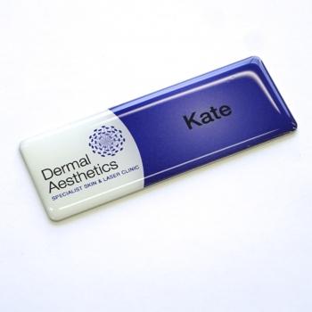 Flat Name Badges