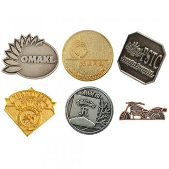 Stamped Metal Badges