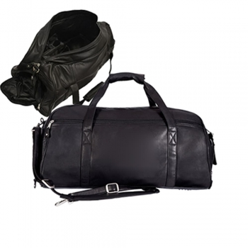 Leather sport bags