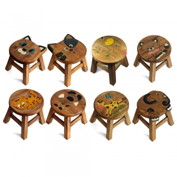 Kid's wooden stools