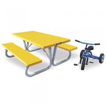 Kids aluminum tables