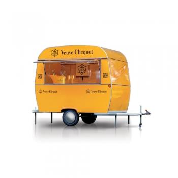 Mobile Food Truck Kiosk