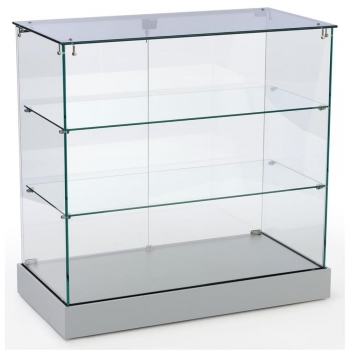 Frameless Display Cases