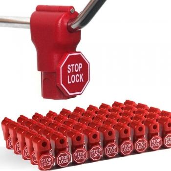 Peg Hook Stop Lock