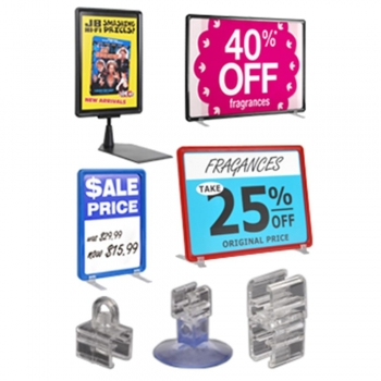 Retail Store Interior Signs