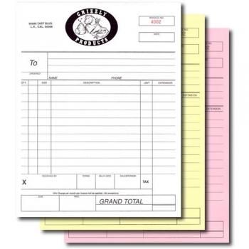 Sales Form Printing
