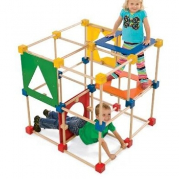 Indoor Climbers Play Structures