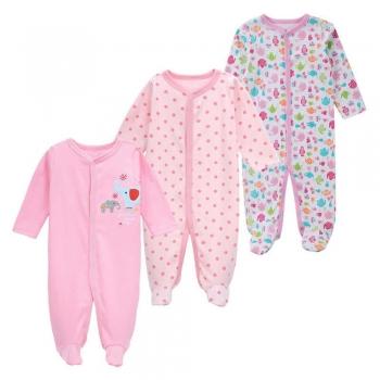 Baby Girls Blanket Sleepers