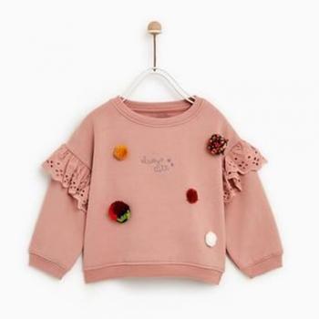 Baby Girls Sweatshirts