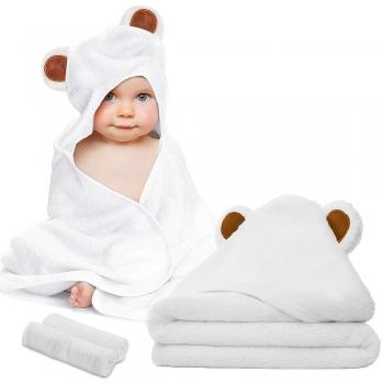 Baby Bath Hooded Towels