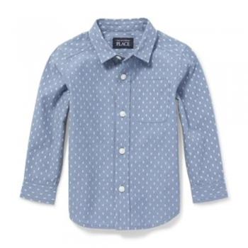 Baby Boys Button Down Dress Shirts