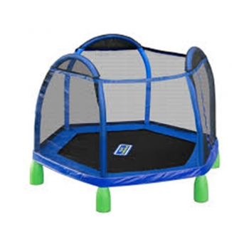 Caged Trampolines