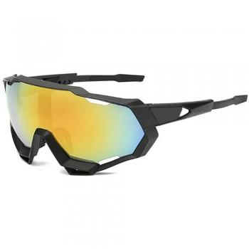 Triathlon sunglasses.