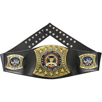 Wrestling champion belts