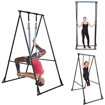 Yoga trapeze stands