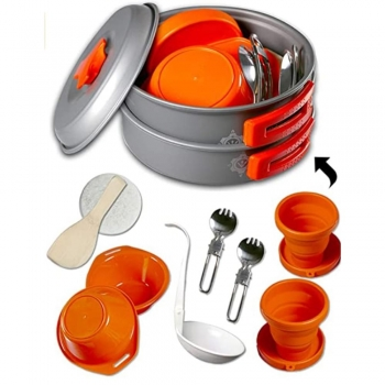 Camping Dishes Utensils