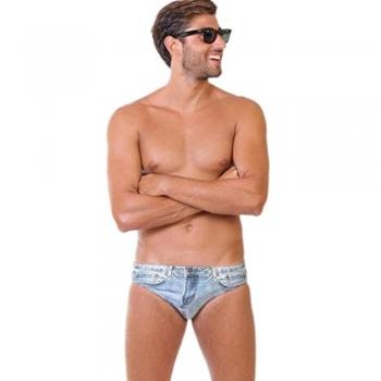 Athletic Swimwear Briefs
