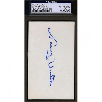 Sports Collectible Index Cards