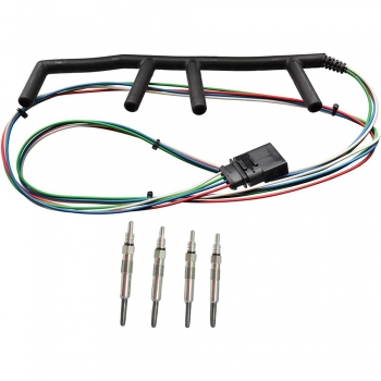 Car Glow Plug Wiring Harness