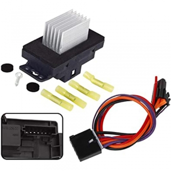 Car HVAC Blower Motor Resistor Harness