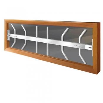 Swing Away Window Security Bars