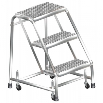 Rolling Stainless Steel Ladders