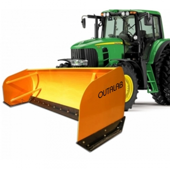 Compact Tractor Snow Plows Pushers