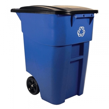 Plastic   Outdoor Trash Containers