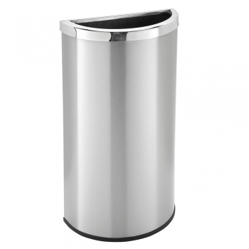 Steel   Indoor Trash Containers