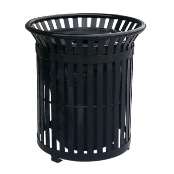 Steel   Outdoor Trash Containers
