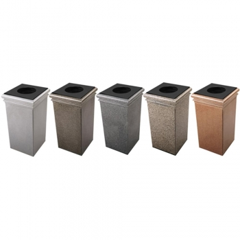 Stone Trash Containers