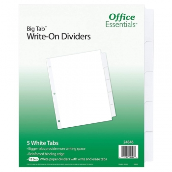Write-On Dividers