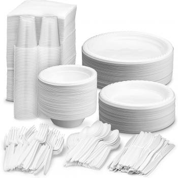 Disposable Plastic Dinnerware