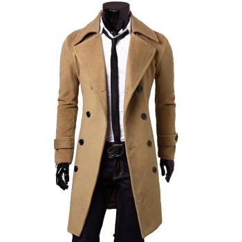 Double-Breasted Overcoats