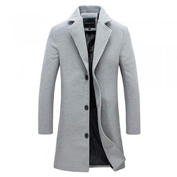 Single-Breasted Overcoats & Jackets