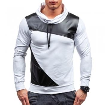 Leather Hoodies & Sweatshirts