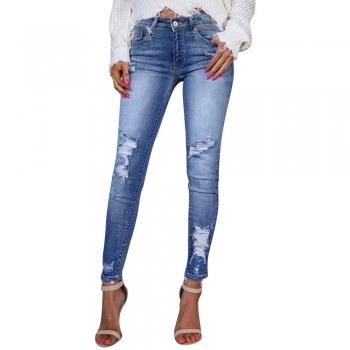 Frayed jeans & Denims