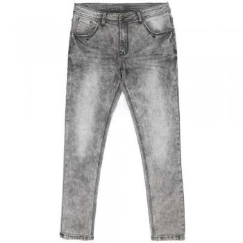 Whisker washed jeans & Denims