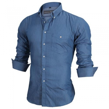 Casual Button-Ups Dress Shirts