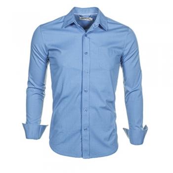 Fabric Button-Ups Dress Shirts