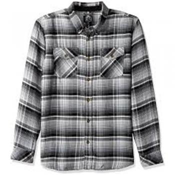 Flannel Button-Ups Dress Shirts